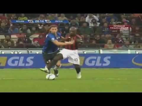 Zlatan Ibrahimovic vs AC Milan Away 08-09