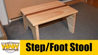 Step/Foot Stool - Off the cuff - Wacky Wood Works