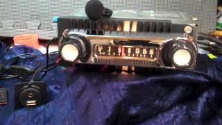 1966 Ford F100 Pickup Truck original AM radio
