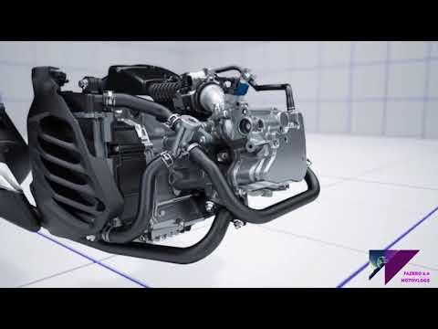 Yamaha n max 155 funcionamiento del motor y que es bluecore? (comercial)