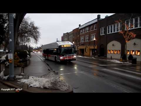 CATA Bus 2012 New Flyer Xcelsior XN40 #14 on Route N 3-18-2017