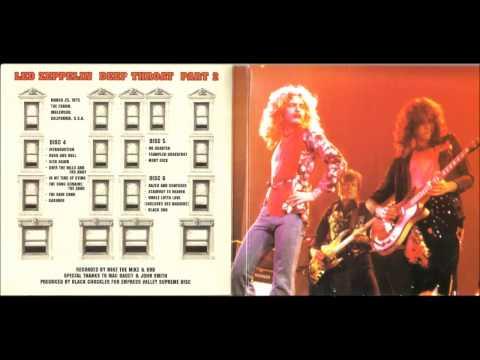 Led Zeppelin - Intro - Deep Throat LA Forum 03-25-1975 Part 1