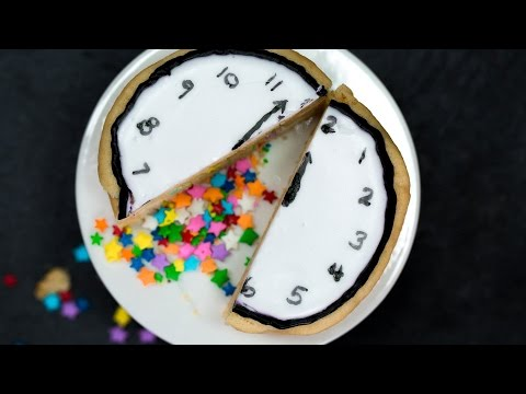 Cookie Confetti Clocks | Southern Living