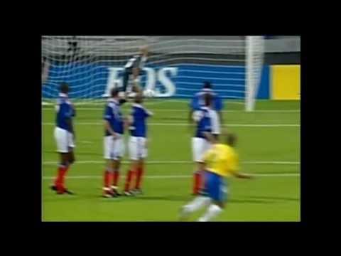 ROBERTO CARLOS - against france 1997 (tournoi de france)