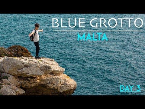 Blue Grotto, Malta Travel Vlog 2018 (Day 3)