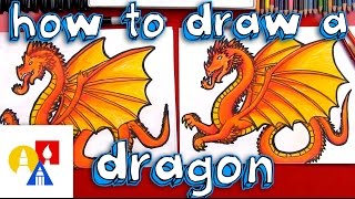 dragons drawing lesson