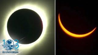 Así se vio el eclipse total de Sol desde Chile