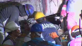 Crews In Mexico Race To Rescue Kids Trapped In Collapsed School