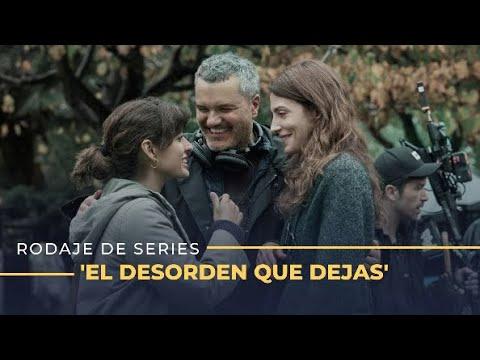 Un día en el rodaje de 'El desorden que dejas', el thriller gallego de Netflix