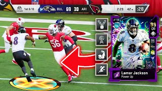 NEW 4th ABILITY TURNED LAMAR JACKSON INTO A CHEATCODE! - Madden 20 Ultimate Team
