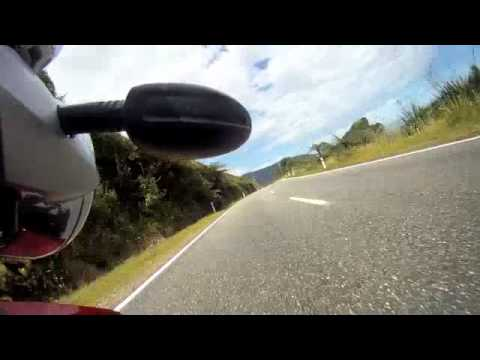 BMW MotorBike ride Highway 6 West Coast New Zealand