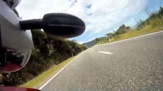 BMW MotorBike ride Highway 6 West Coast New Zealand