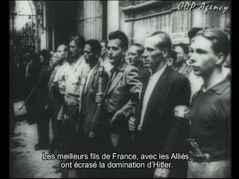 L'hymne de la Résistance française.  Le Chant des partisans