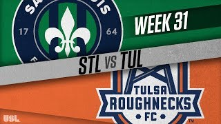 Saint Louis FC vs Tulsa Roughnecks FC: October 10, 2018