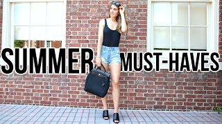 SUMMER ESSENTIALS | Luxury & High Street Must-Haves | Shea Whitney