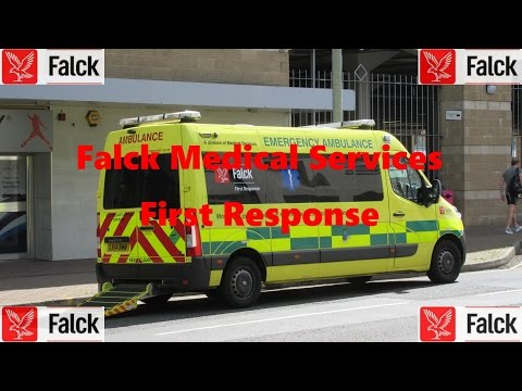 Falck Medical Services - First Response // compilation 1