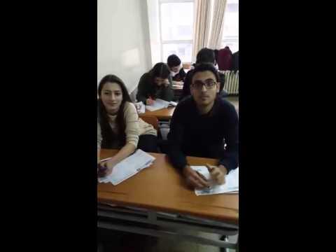 Öğrencilerle YGS Muhabbeti