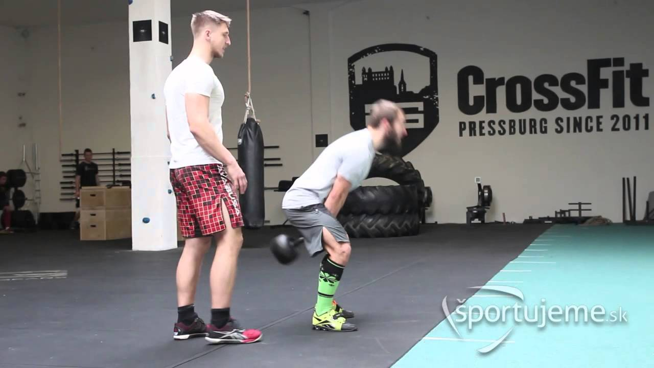 Kettlebell/Dumbbell Swing - At-Home CrossFit Movements