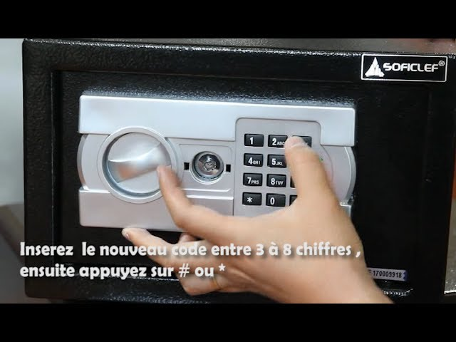 Coffre Fort Soficlef Ouverture Et Codes Youtube