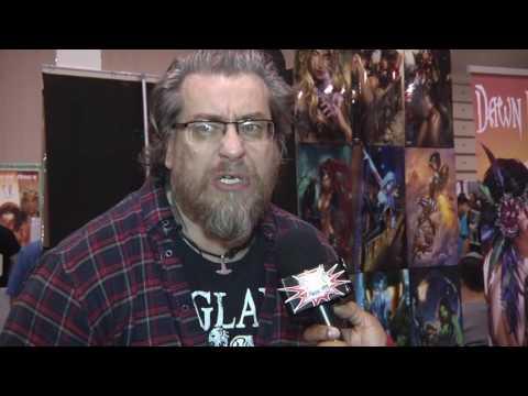 Simon Bisley Comic Book Artist Interview - Motor City Comic Con 2016