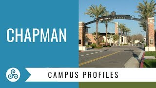 Chapman University campus visit with American College Strategies, Orange, California