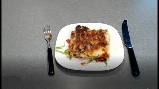 Рецепт Лазанья домашняя - видео-рецепт приготовления лазаньи дома, простой и вкусный