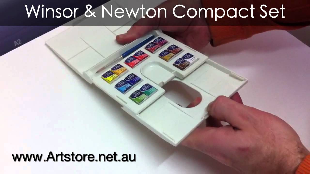 Winsor Newton Watercolor Compact Set Youtube