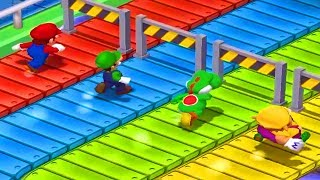 Mario Party 7 - All Funny Minigames