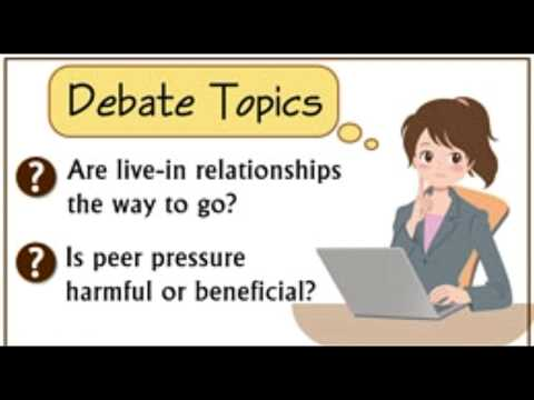 Thought provoking Debate Topics for College Students