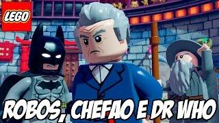 Lego Dimensions - Chefão, Dr Who e MUITOS ROBÔS