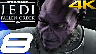 STAR WARS Jedi Fallen Order - Gameplay Walkthrough Part 8 - Order 66 & Dual (Full Game) 4K 60FPS