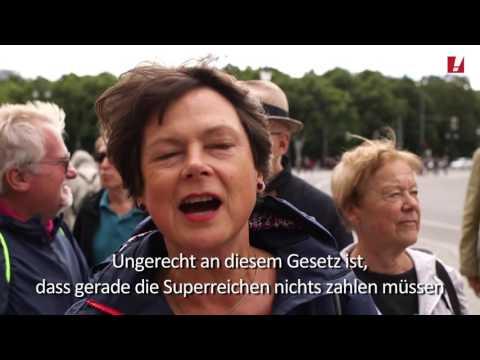 """Aktivisten verpassen """"Haus des Familienunternehmens"""" wahrheitsgemäßes Schild"""