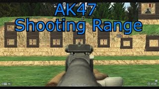 Lets Play World of Guns: Gun Disassembly 25 - AK47 Shooting Range