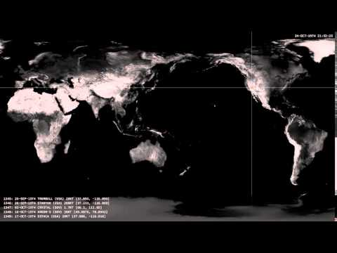 The history of the atomic bomb all nuclear tests since 1945