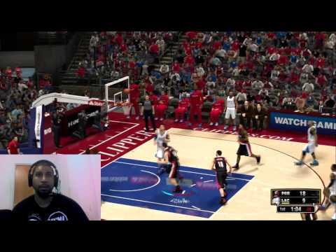 NBA 2k13 youtube Match UP VS Damien Prince!! Game 1 2k servers suck!!!