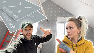 This plasterboard is indestructible! (We build the walls) - EP55