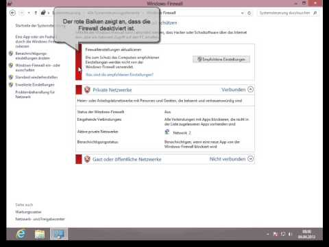 Firewall Aktivieren Windows 8 De Youtube