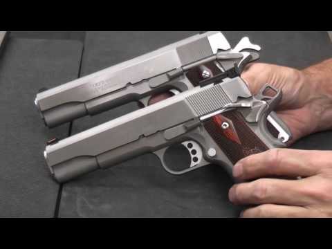 1911- Comparing 45acp vs 9mm