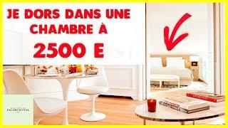 Vlog: Je dors dans une chambre à 2500€ / Nuit