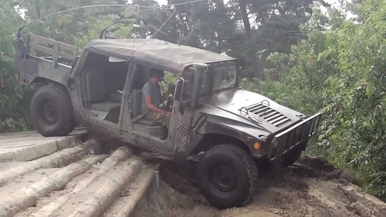 M998 Hmmwv D H O G Offroading In Furstenau Germany Aug