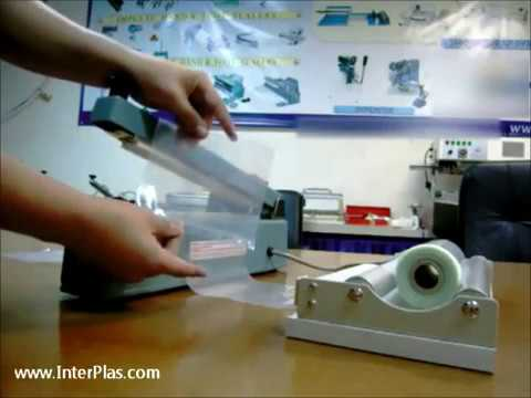 Bag Heat Sealer How To Seal Plastic Bags Poly Tubing