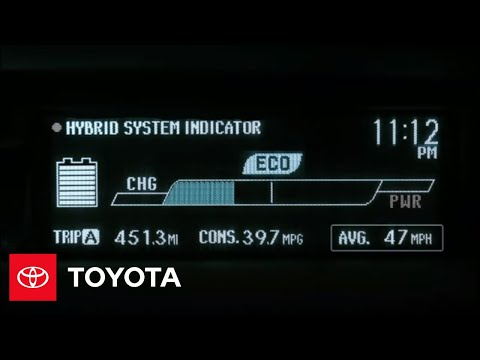 2010 Prius How-To: Hybrid System Indicator | Toyota