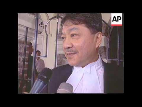 MALAYSIA: ANWAR IBRAHIM SODOMY TRIAL