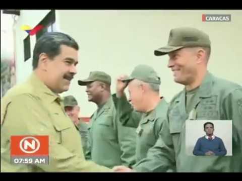 Presidente Maduro acompaña a soldados en ejercicios en Fuerte Tiuna, 30 enero 2019