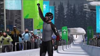 Vancouver 2010 Official video game of the winter Olympics [HD]  trailer #2 PS3 Xbox  and PC