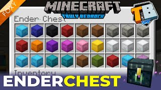 ENDER CHEST | Truly Bedrock Season 2 [5] | Minecraft Bedrock Edition 1.14 SMP