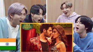 Download lagu BTS reaction to bollywood songs|Coca cola| Korean reaction to bollywood songs|BTS India|Tony kakar|