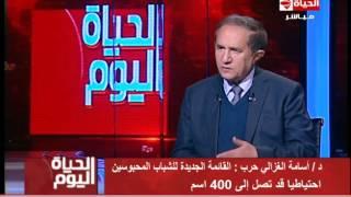 فيديو.. أسامة الغزالي حرب: قائمة العفو الجديدة تصل لـ400 اسم