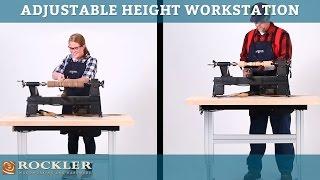 Rockler Adjustable Height Workstation