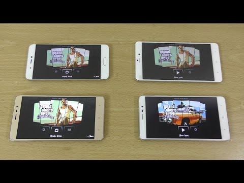 Xiaomi Redmi Note 3 Pro 3GB & 2GB vs Mi5 vs Mi Note - Gaming Comparison!